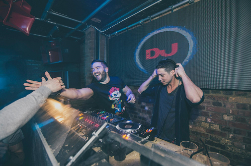 DJs play while showing how to get a DJ residency gig