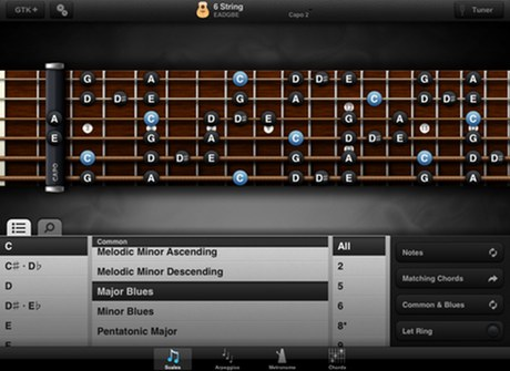 practice and tab apps